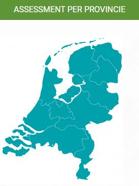 Waar in Nederland kan je assessments doen? Overzicht per provincie. www.talentem.nl